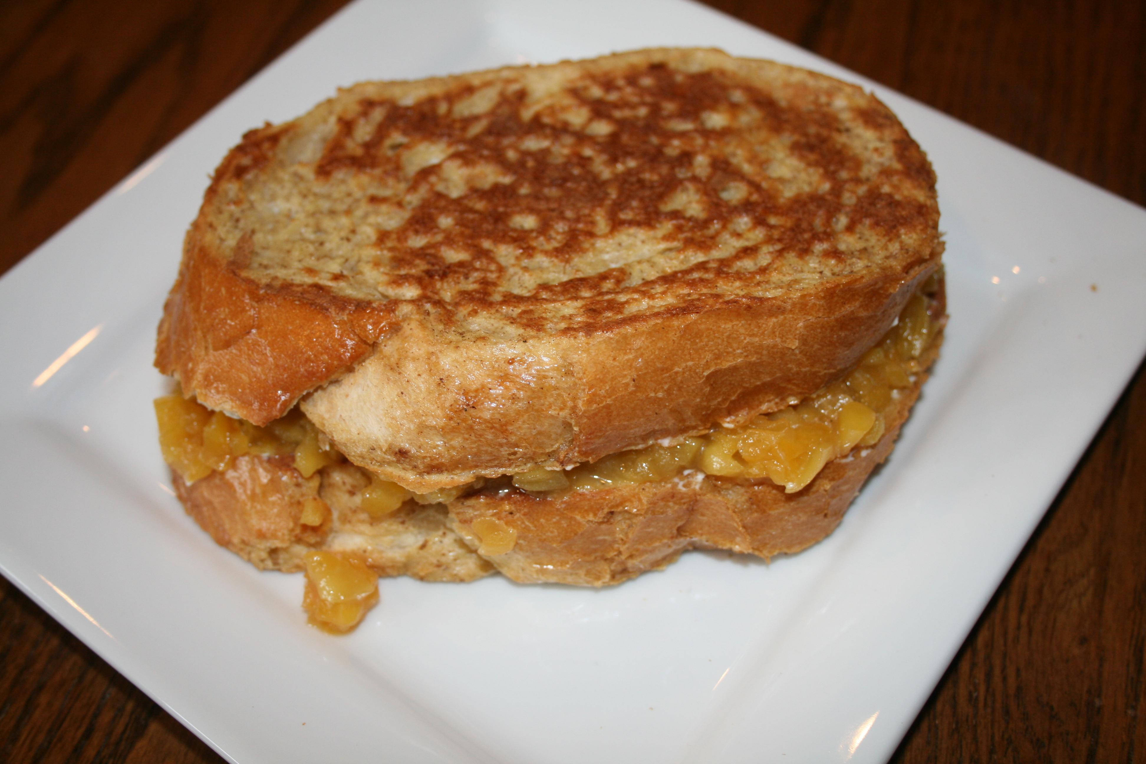 Peach-Stuffed French Toast | All Betz Off