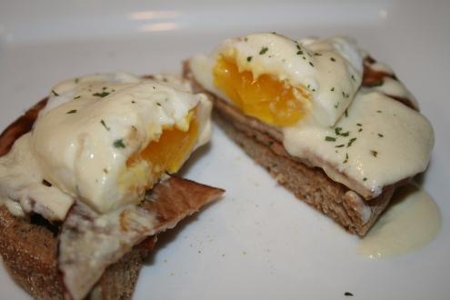 Eggs Benedict Inside