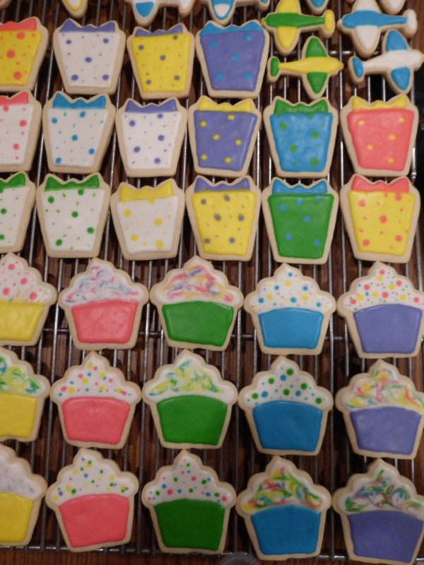 Birthday Cupcake Cookies